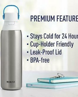 Brita Stainless Steel Filter Water Bottle